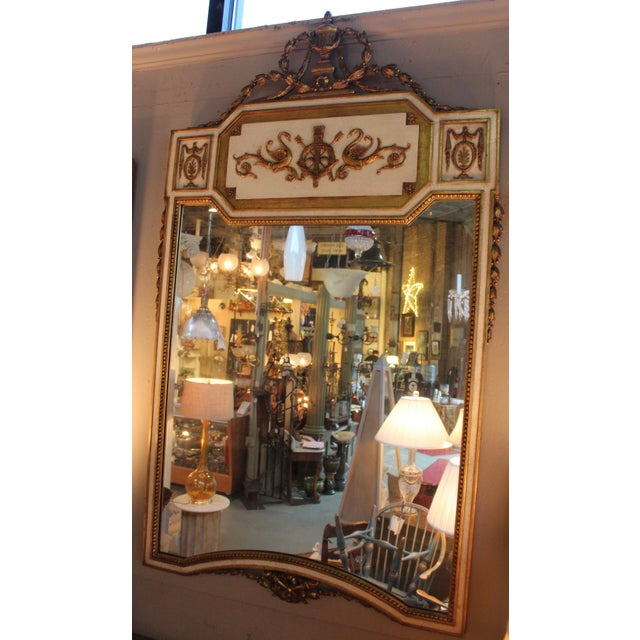 Image of Neoclassical Gilt-Wood Mirror