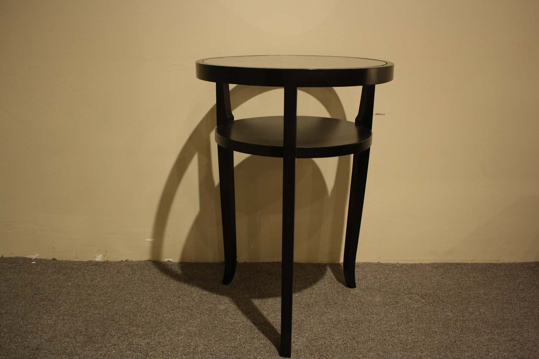 Ebony wood table