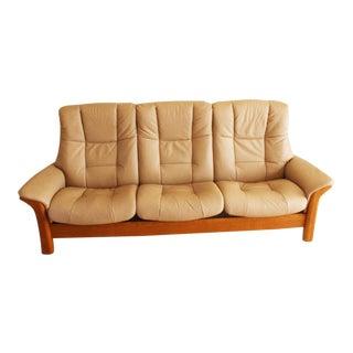 Scandinavian Buckingham High Back Sofa