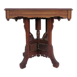 Antique Moroccan Center Table