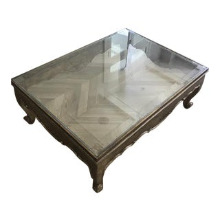 Murray's Iron Works Cabriole Coffee Table