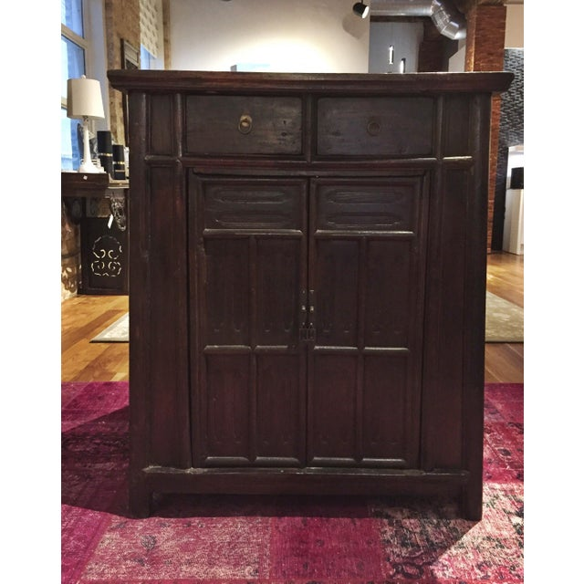 Chinese Antique Tapered Cabinet - Image 2 of 11