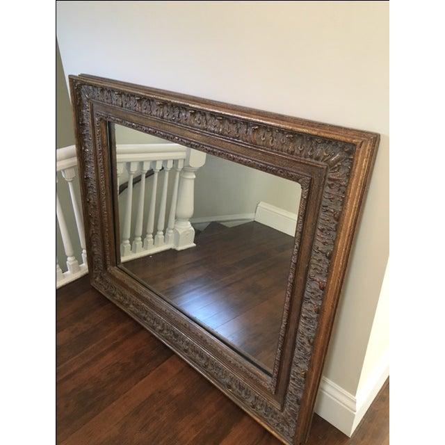 Large scale custom framed mirror chairish for Custom framed mirrors