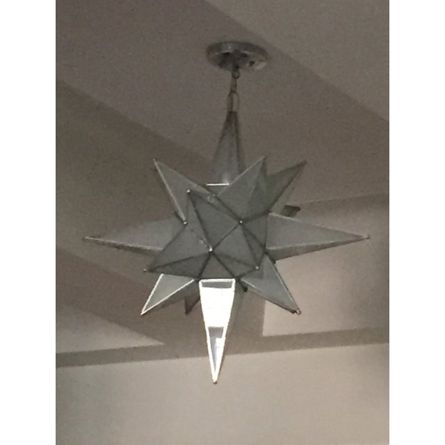 moravian star light fixture chairish. Black Bedroom Furniture Sets. Home Design Ideas