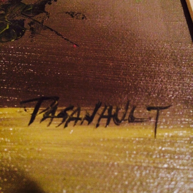 Original Oil Painting, Signed Pasanault - Image 5 of 5