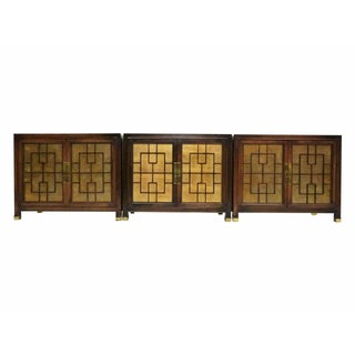 Gilded & Fretwork Cabinets by Heritage - S/3