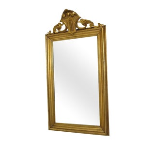 19th Century Antique French Gilt Mirror
