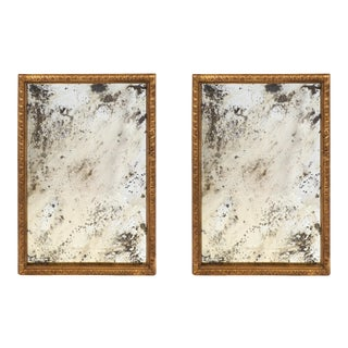 Antique Carved Gold Leaf Mirrors