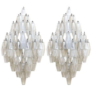 Carlo Scarpa Glass Sconces - A Pair