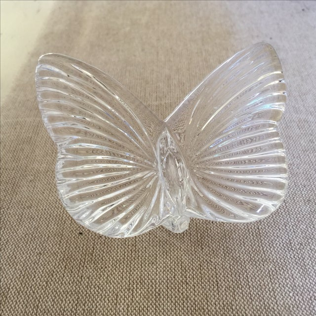 Vintage Crystal Butterfly - Image 6 of 11