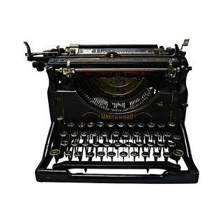 Vintage 1926 Underwood Typewriter
