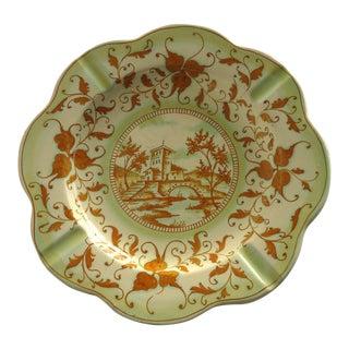 Large Vintage Italian Pottery Ashtray