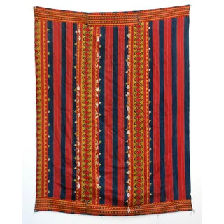 Vintage Philippine Kalinga Tribal Blanket