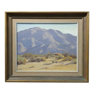 Darving Duncan - Beautiful California Desert Landscape-Impressionsit -oil Painting