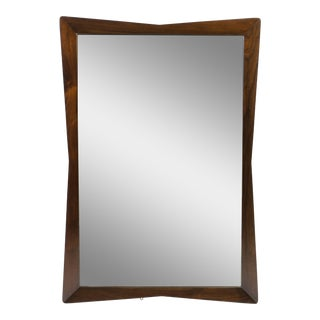 Kent Coffey Rectangular Walnut Mirror