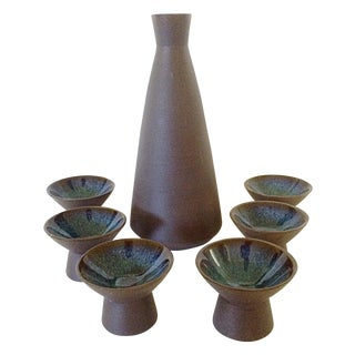 Japanese Sake Set - 7 Pieces