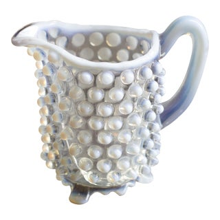 Vintage Small Hobnail Pitcher