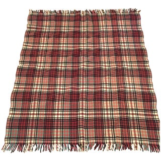 Vintage Scottish Throw