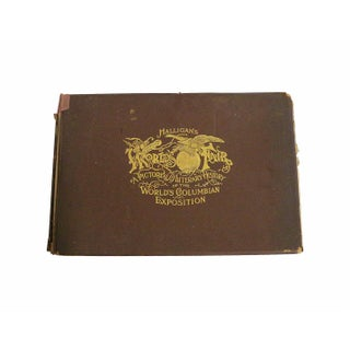 1890s Columbian Expo Book by Halligan