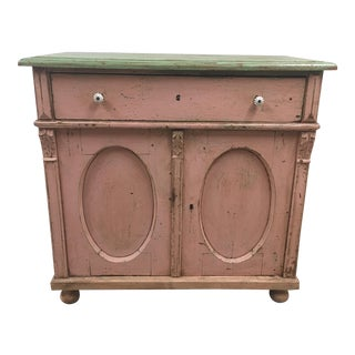 Antique Belgian Painted Cabinet