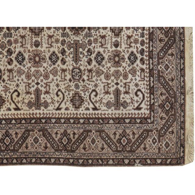 "Vintage Persian Tabriz Rug- 3'10"" x 5'7"" - Image 2 of 3"