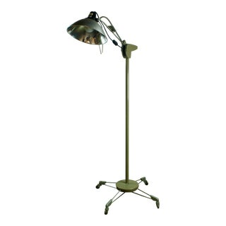 Vintage Medical Examination Floor Lamp