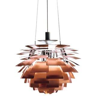 Monumental Poul Henningsen Copper Ph Artichoke Chandelier for Louis Poulsen