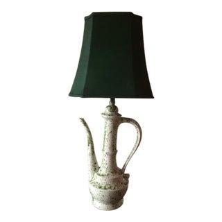 Antique Porcelain Teapot Lamp