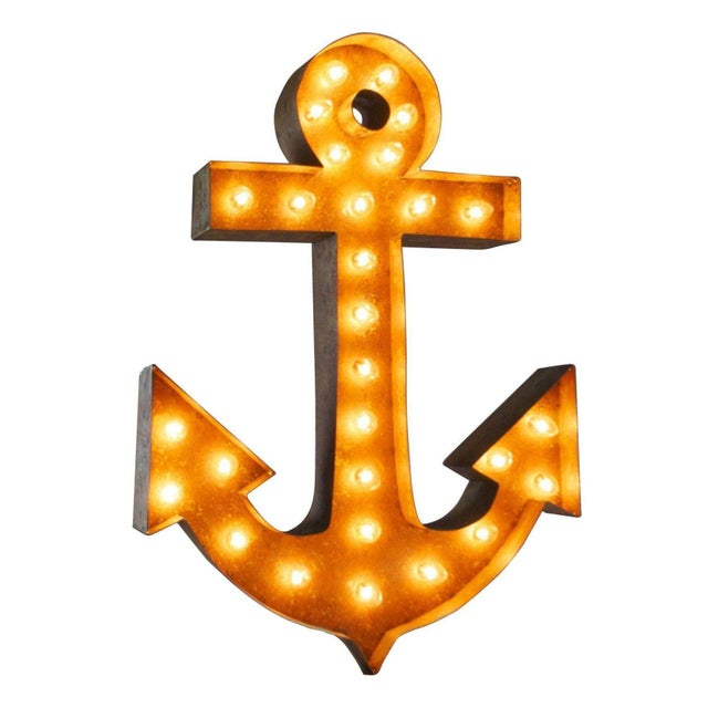 "30"" Vintage Marquee Anchor Light - Image 1 of 2"