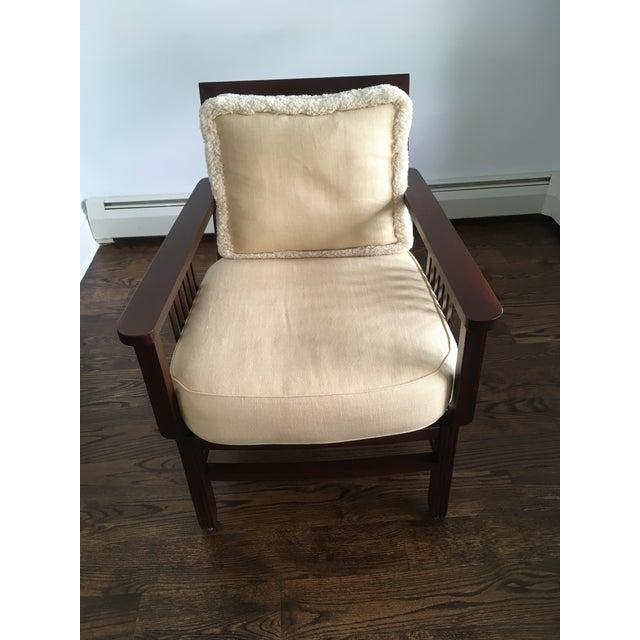 Mariette Himes Gomez Slat Back Chair - Image 2 of 6