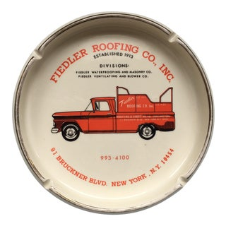 1960's Advertising Ashtray