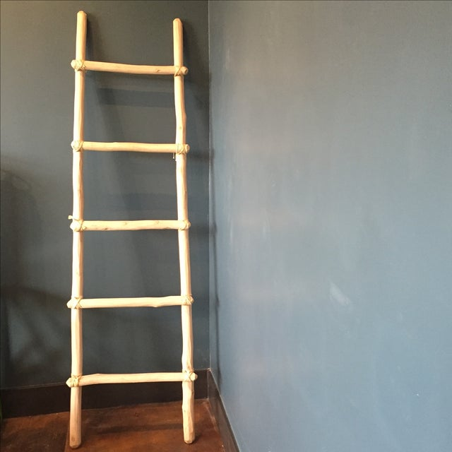 how to make a bamboo ladder