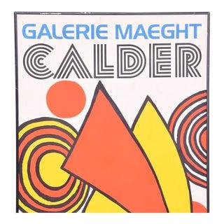 Galery Maeght Calder Poster