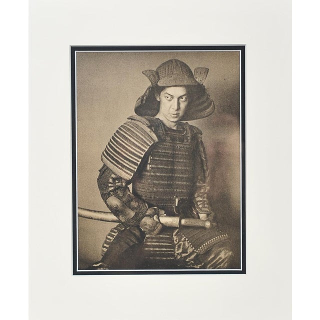 "Alvin Langdon ""Micha Itow"" Samurai Photograph - Image 2 of 8"