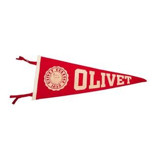 Olivet College Felt Flag