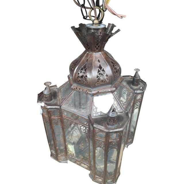 Moroccan Hanging Lamp - Image 1 of 7