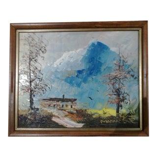 1998 Winter Landscape Lodge
