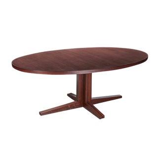 Oval Pedestal Dining Table by John Mortensen