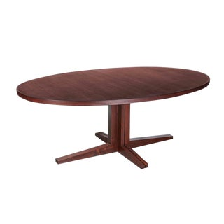 Oval Pedestal Dining Table by John Mortensen