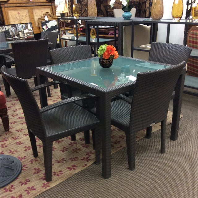 Dedon Outdoor Dining Set - Image 7 of 7