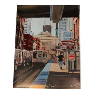 On the Platform - Giclee Print