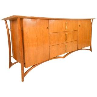 Piet Hein Mid-Century Modern Sculpted 9 Drawer Dresser
