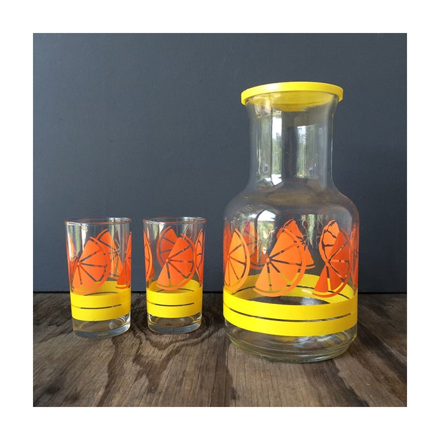 Image of Libby Juice Pitcher and Glasses