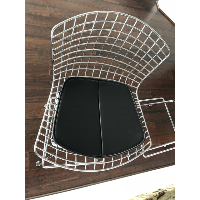 Bertoia Counter Stools With Seat Pads - Set of 3 - Image 8 of 11