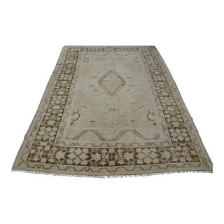 Turkish Oushak Rug- 5′10″ × 8′5″