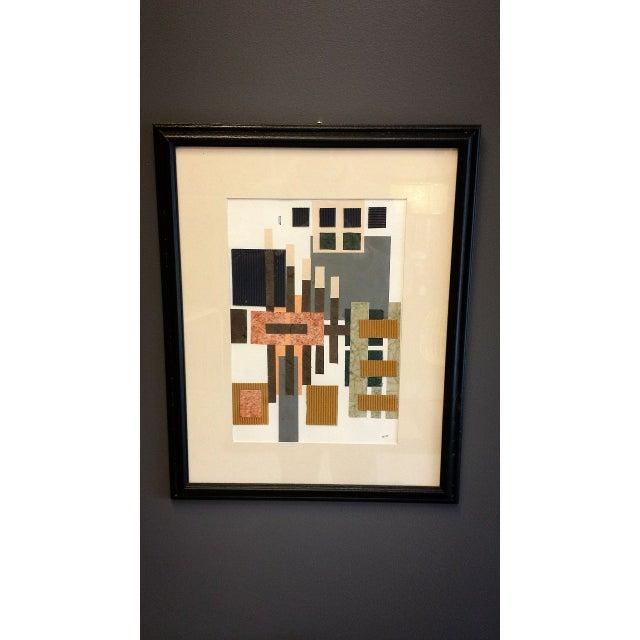 Image of Original Signed/Framed Ruth Bush Art - Set of 4