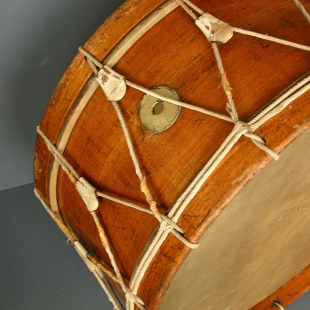 Antique Wooden Drum From Belgium - Image 5 of 5