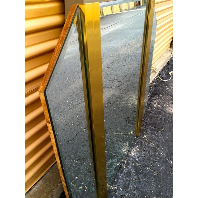 Retro Octagon Beveled Glass Mirror - Image 8 of 9