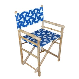 Bamboo Director's Chairs - Set of 4