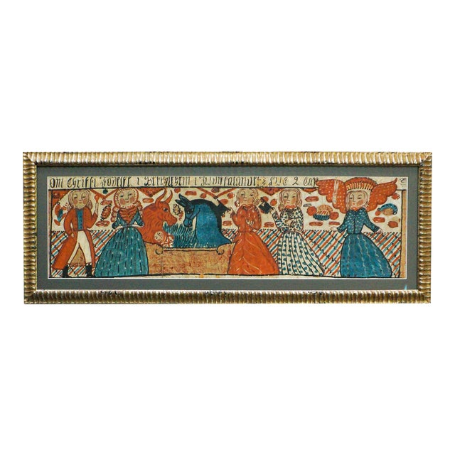Image of Early Bonad depicting Nativity Scene (#50-06)